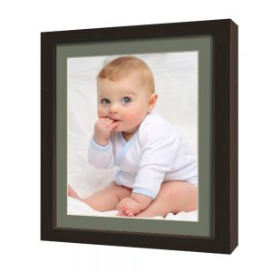 framed print black
